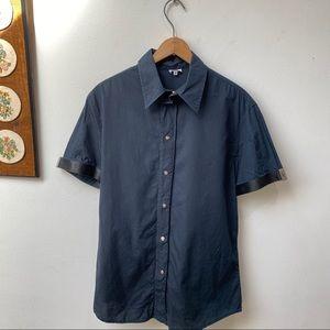 Versace Snap Button Shirt